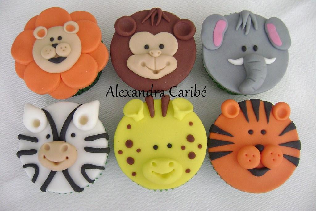 How To Make Giraffe Cupcake Cake