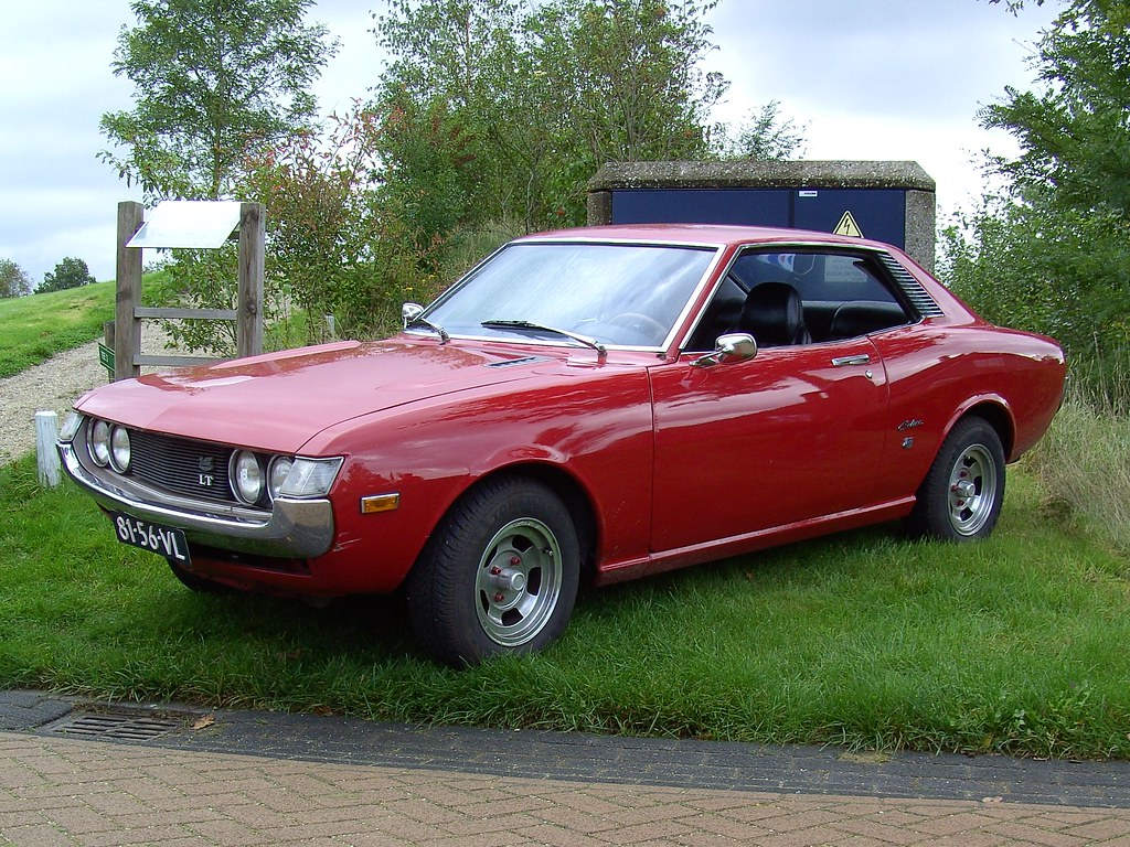1973 Toyota Celica Lt David Van Mill Flickr