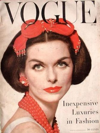 Vogue-June 1956 | by Fashion Covers Magazines