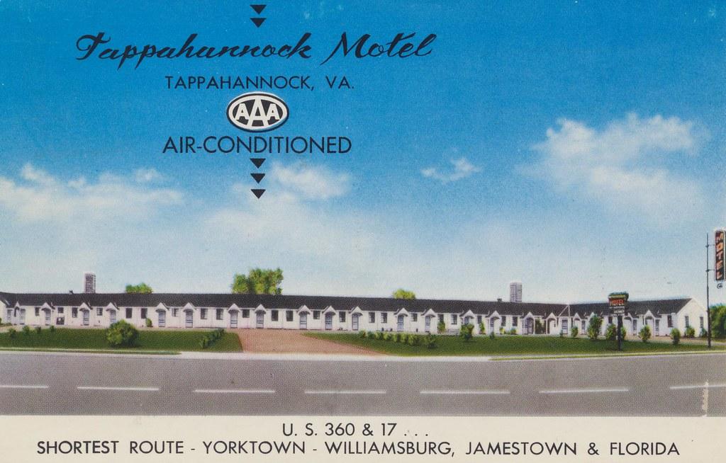 Tappahannock Motel - Tappahannock, Virginia