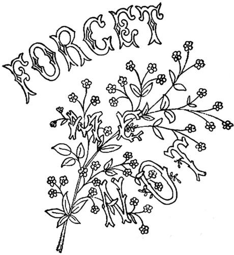 1886 Ingalls FORGET ME NOT