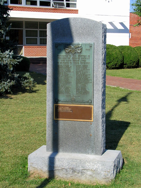 Johnson County World War Ii Memorial Located On The Lawn O Flickr Photo Sharing
