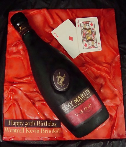 Remy Martin Bottle Cake I Think This Is My Best Bottle
