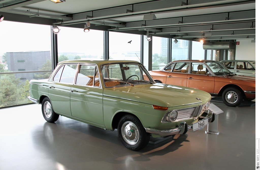1962 BMW 1500 (01) | The BMW New Class (German: Neue Klasse)… | Flickr