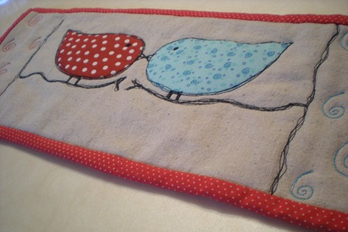 Love Birds (close up) | by Erin @ Why Not Sew? Quilts