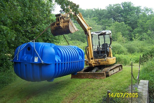 Septic systems and steep slopes 38 septic system for Cottage septic systems
