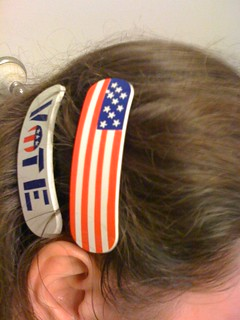 election day accoutrements | by Sarah Ovenall