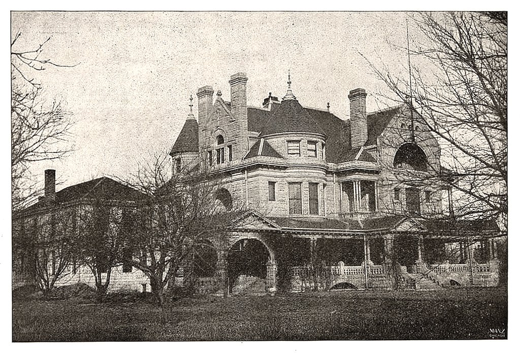 Robert e lawrence residence wichita ks the grand home o flickr for Designers home gallery wichita