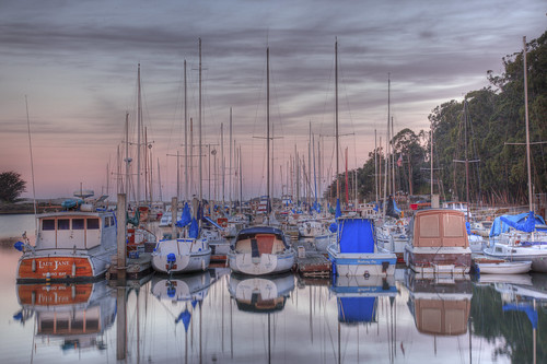 IMG_0294 Sunrise in the Harbor, Morro Bay, CA | by Ashala Tylor Images