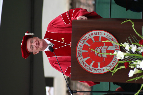 Richard Rush speaking at Commencement | by California State University Channel Islands