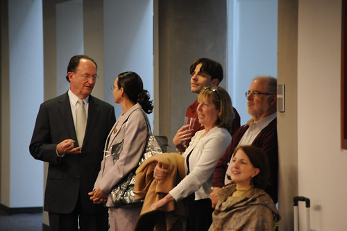 President Richard Rush along with faculty and staff attending the 2009 Celebration of Faculty Accomplishments | by California State University Channel Islands
