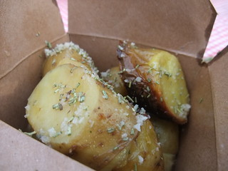 SFO Day 2: Roasted Potatoes with Sea Salt from Roli Roti at the Ferry Plaza Farmers Market | by swampkitty