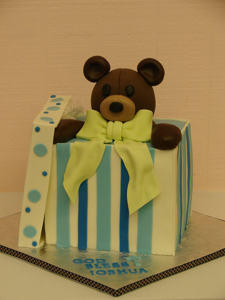 Teddy Bear Gift Box Cake Teddy Bear Gift Box Cake Www