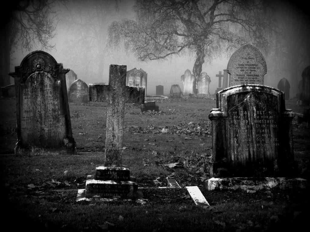 By Paul Downing Foggy Graveyard