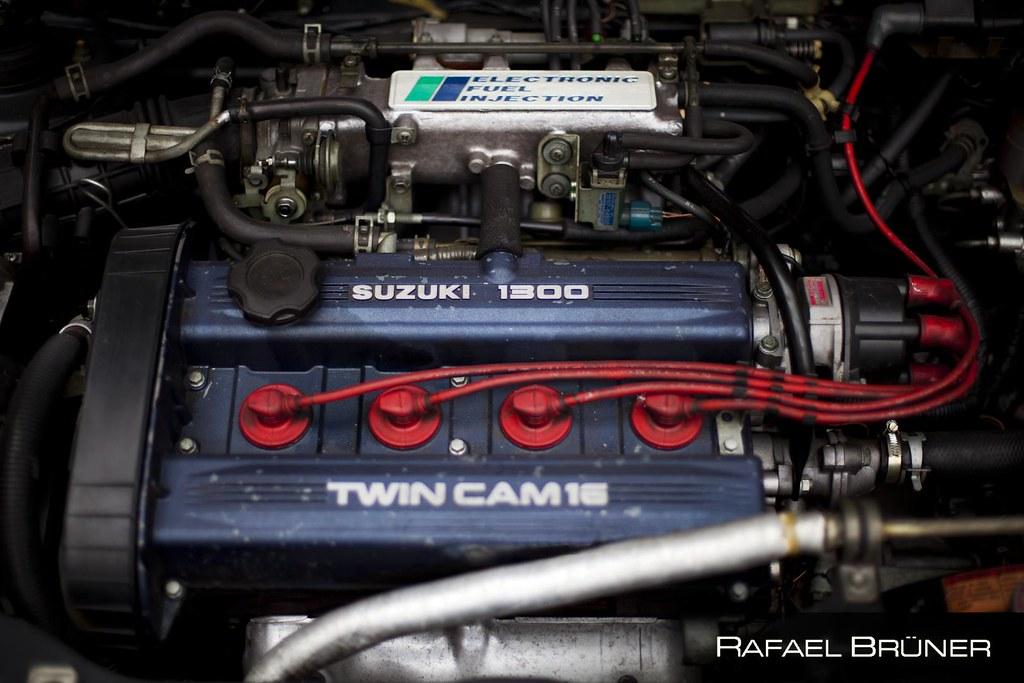 suzuki swift gti | engine: g13b | rafael brüner | flickr