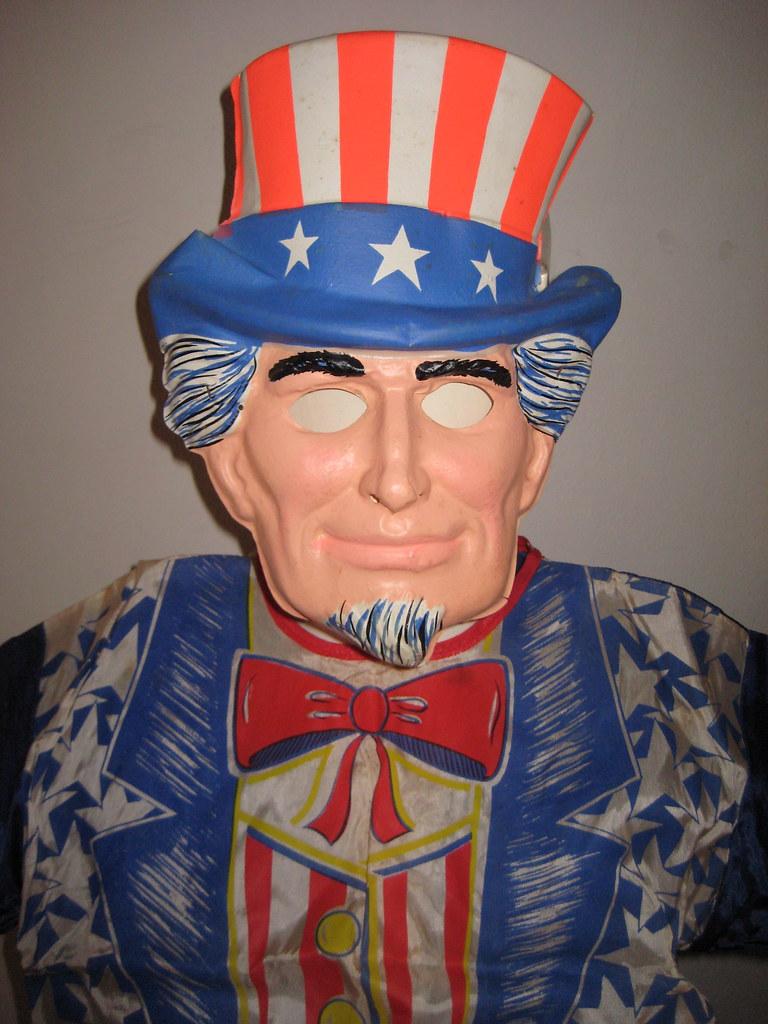 Uncle Sam Mask Halloween Costume 8942 | Halloween James Mont… | Flickr