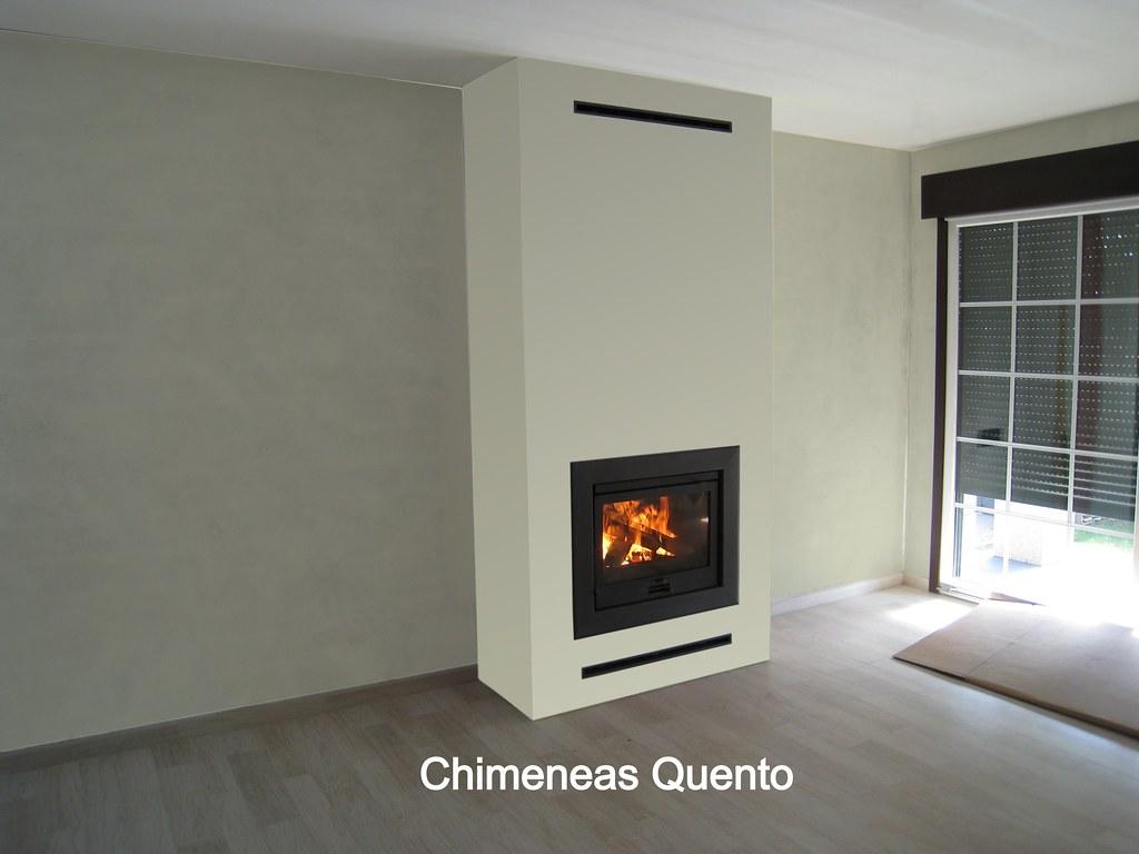 Chimenea quento con dovre 2100 con marco met lico flickr - Chimeneas quento ...