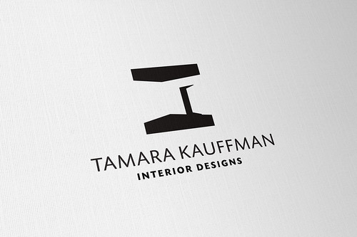 Tamara kauffman interior designs logo portrait read for Interior design logo ideas