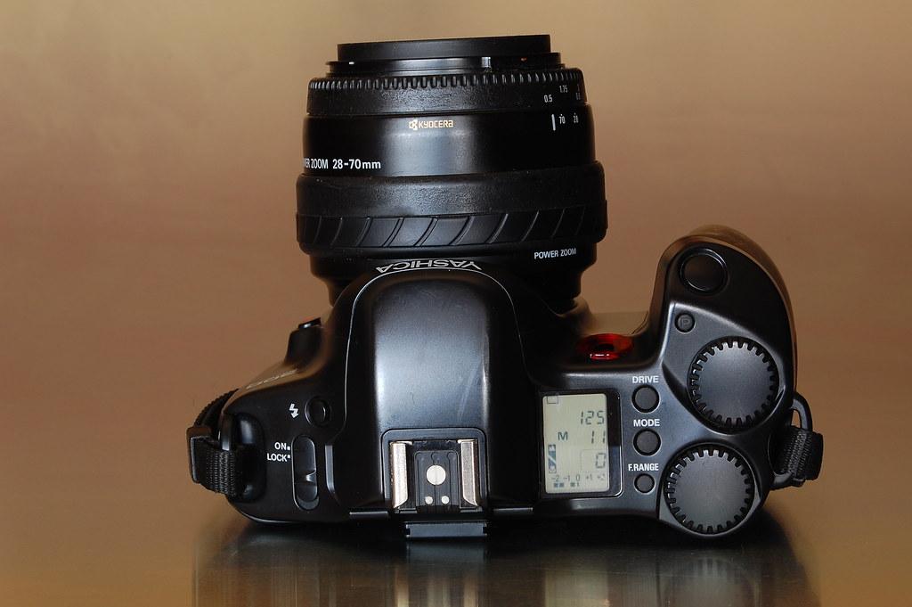 Manual Focus Slr Camera