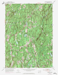 Westford Quadrangle 1970 - USGS Topographic Map 1:24,000 | by uconnlibrariesmagic