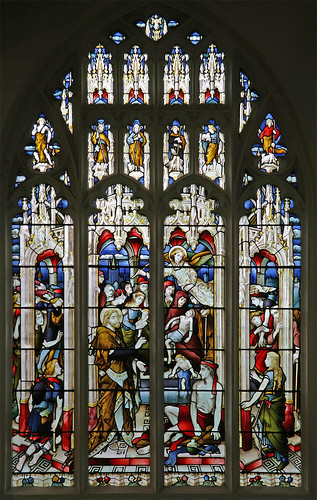 The Pool Of Bethesda St Neots Stained Glass By J Hardman Flickr