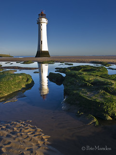 Reflecting on Perch Rock | by Pete Marsden