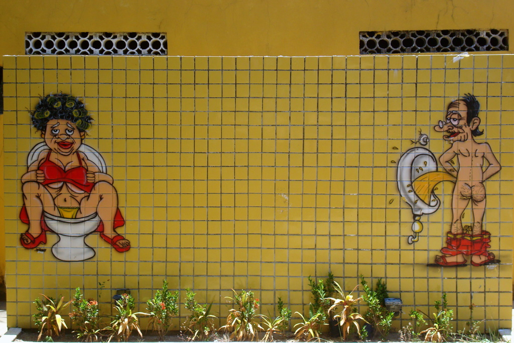 Banheiro Feminino e Banheiro Masculino  Womens Restroom …  Flickr -> Banheiro Feminino Vetor Free