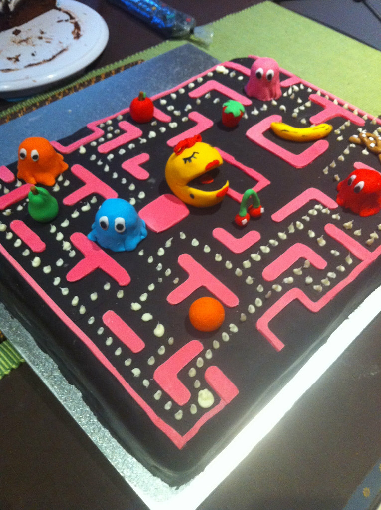 Ms Pac Man Cake Current State Of My Ms Pac Man Cake