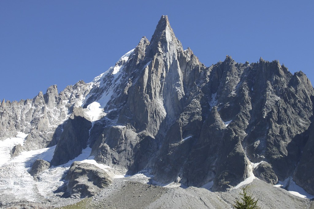 ... du Dru, Mont Blanc massif, French Alps | Richard Allaway | Flickr