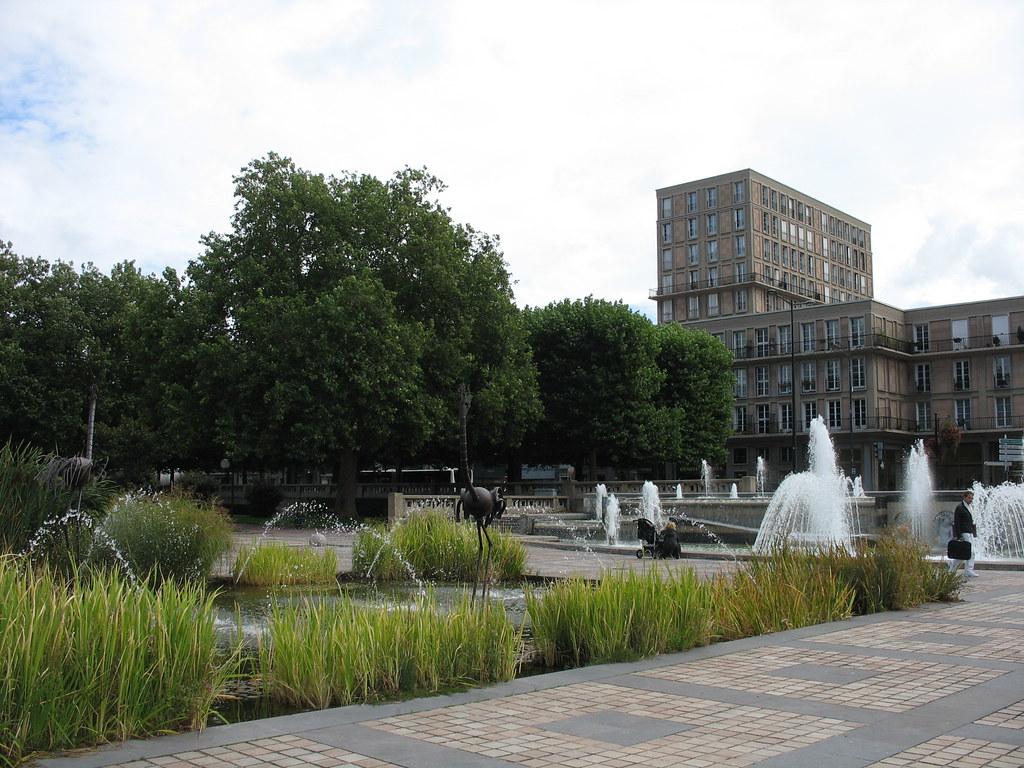Place de l 39 h tel de ville le havre september 2010 flickr for 3d architecture le havre