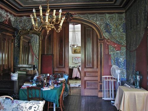 Shard Villa 1872 1874 Interior Trompe L Oeil Fresco D