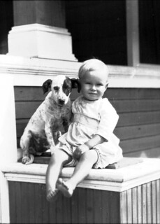 Child and dog | by State Library and Archives of Florida