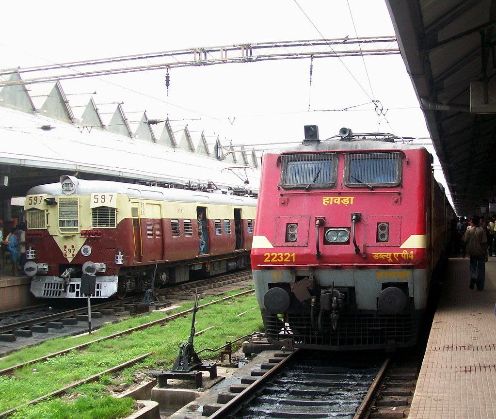 ... Bagh Express with HWH WAP-4#22321   by Anindya Roy Photography (catching