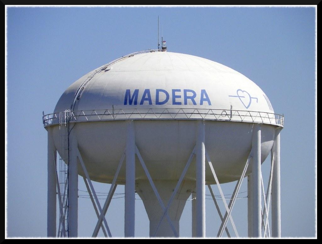 Madera Water Tower The Big Water Tower In Madera