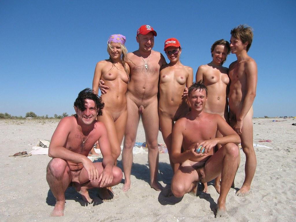 Foto beach nudist