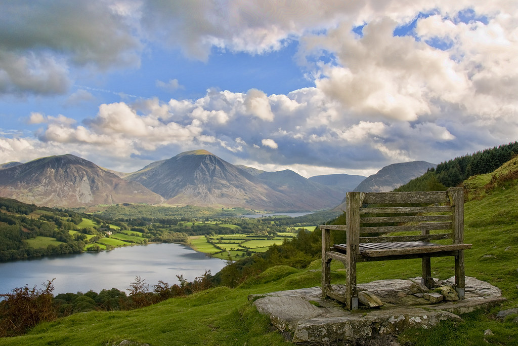 Loweswater | Loweswater taken from Burnbank Fell with ...