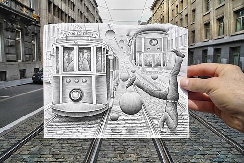 Pencil Vs Camera - 35 | by Ben Heine