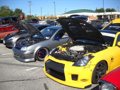 The Ghost Ryders Car Show In Glen Burnie