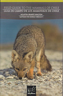 book - Field guide to the mammals of Chile | by www.TerraceLodge.com