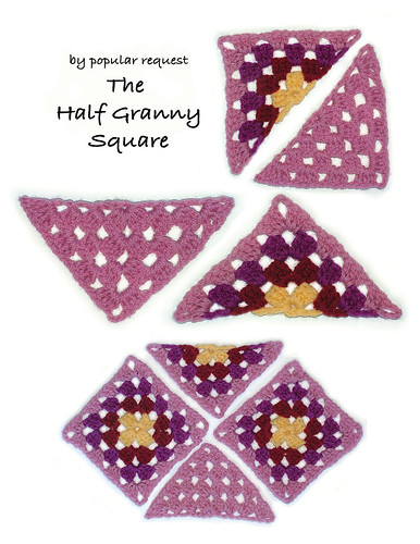 The Half-Granny Square | by renatekirkpatrick