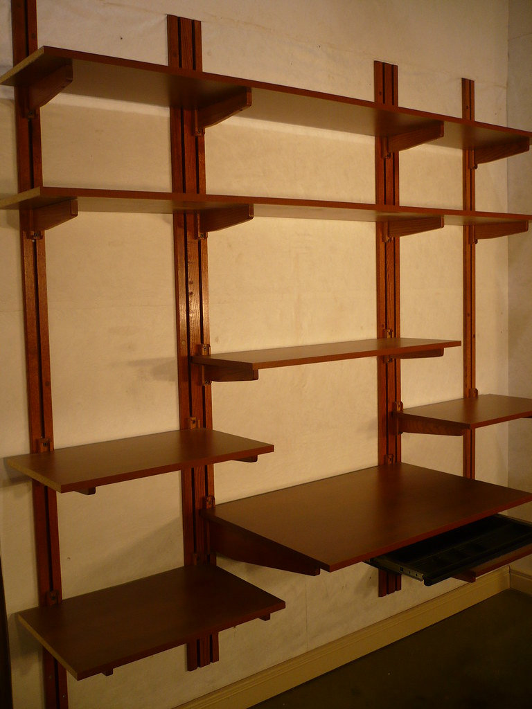 Office Shelving Cherry Mahogany Finish Here We Have A