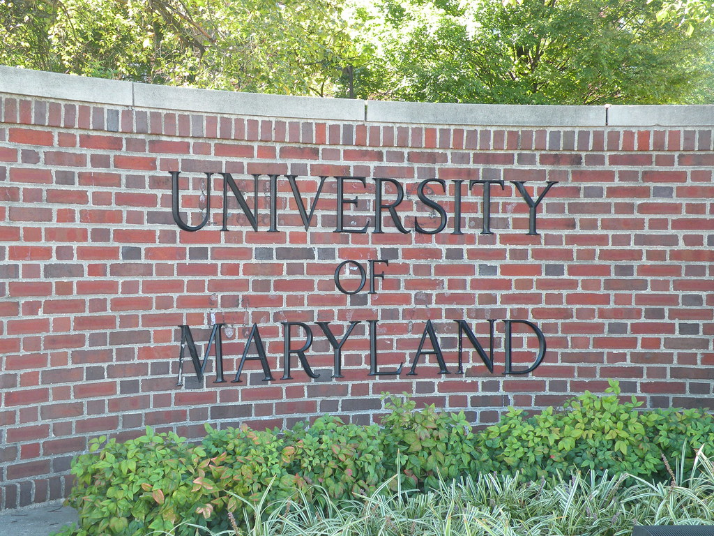 University Of Maryland College Park Founded In 1856 As