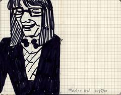 Maureen Nathan / Madre Gal 2010.10.08 by Julia L. Kay