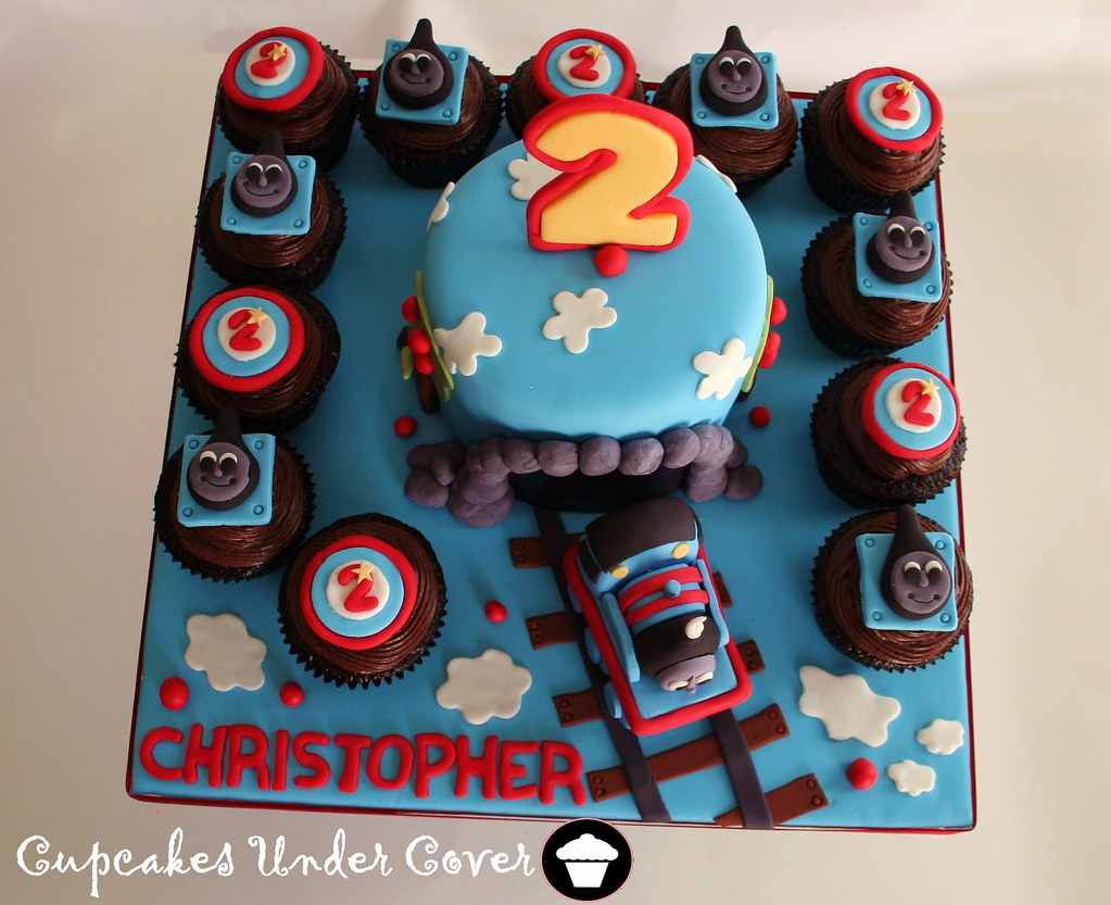 Thomas The Train Cake Amp Cupcakes T A M M Y Flickr