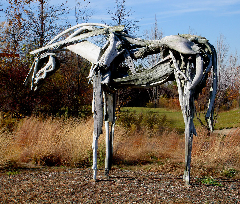 Butterfield horse | My favorite piece at the Meijer Gardens … | Flickr