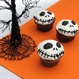 Jack-Skellington-Cupcakes (Courtesy Family Fun) | by Contra Costa Times