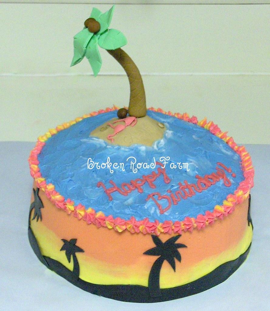 Tropical Birthday Cake Tropical Birthday Cake The Island Flickr