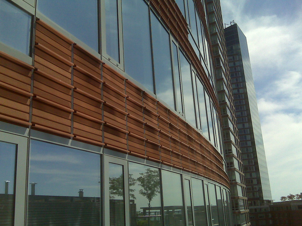 Exterior Curtain Wall System : High performance exterior curtain wall system terracotta