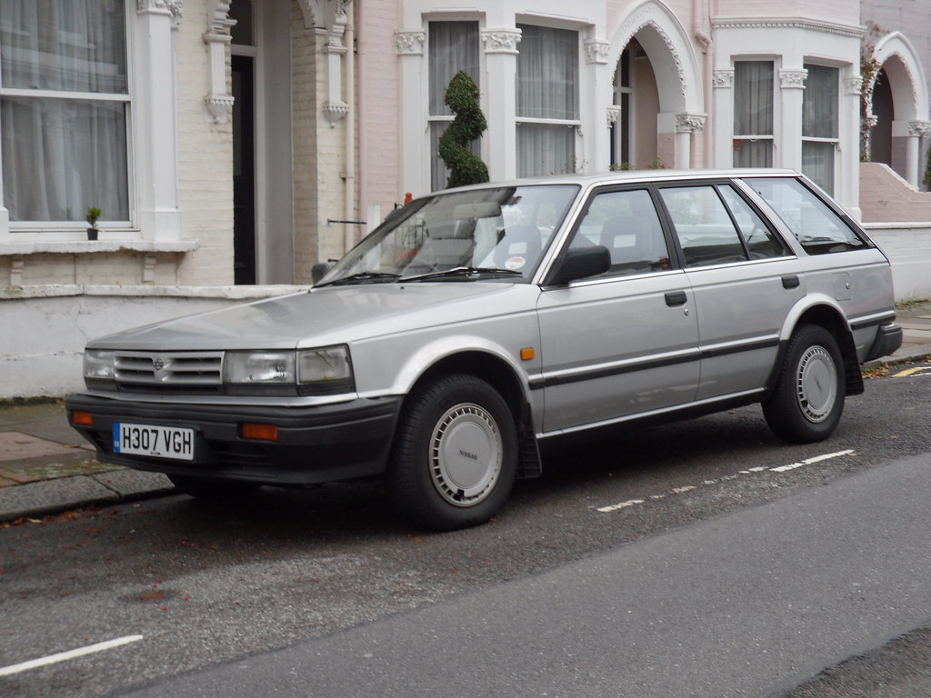 1990 Nissan Bluebird U11 2.0 GL Automatic Estate. | Id say t… | Flickr