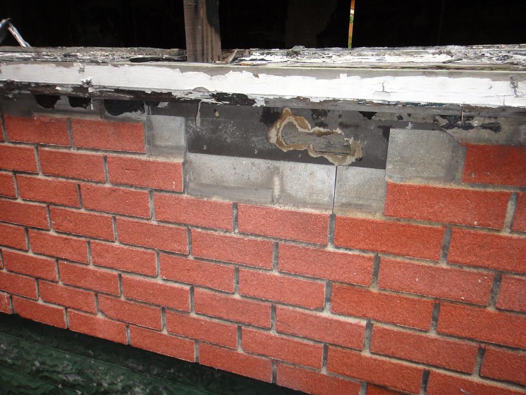 Red Brick Asbestos Siding Example Of Asbestos Cement
